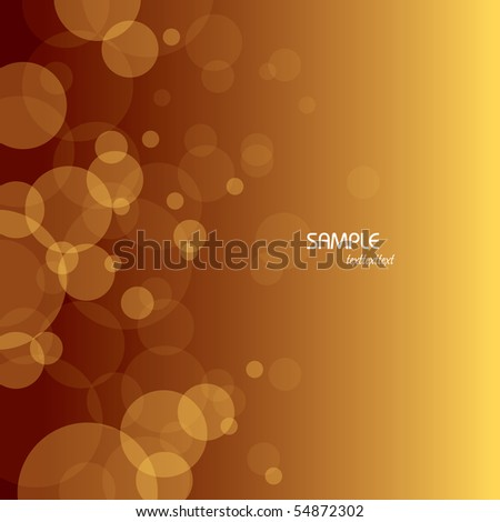 bubbles background abstract
