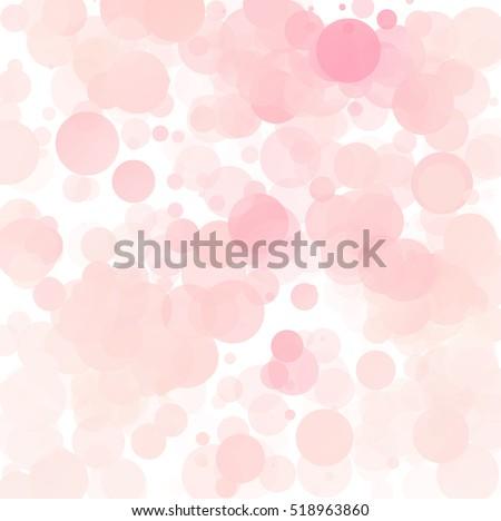 bubbles unique pink bright