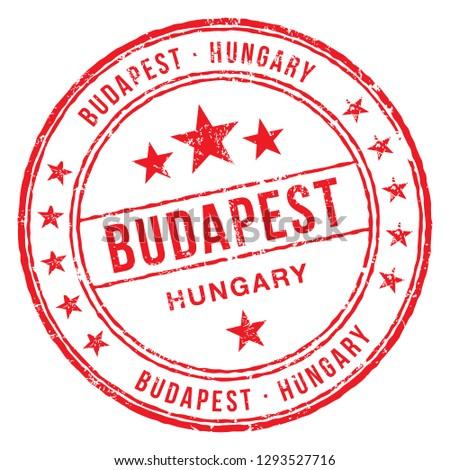 budapest  hungary stamp