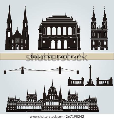 budapest landmarks and