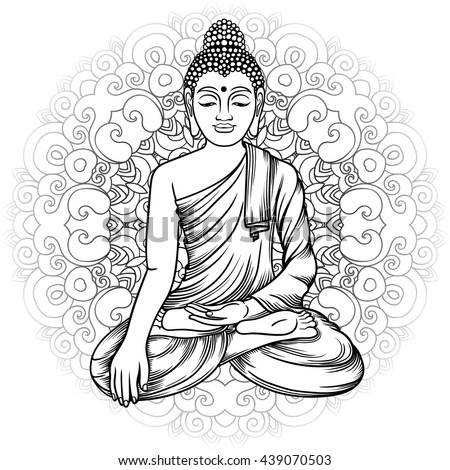 fat buddah coloring pages - photo#40