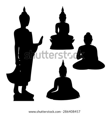 buddha icon   vector