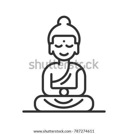 Buddha Line icon