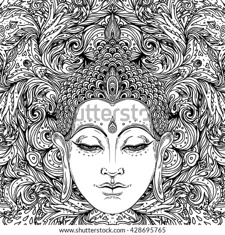 Buddhism Inspirational Coloring Pages