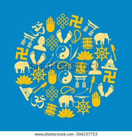 buddhism religions symbols