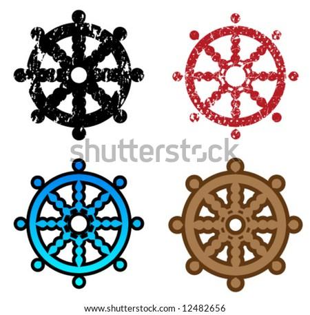 Buddhism Variations Symbols