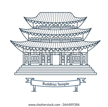 buddhist temple  monastery