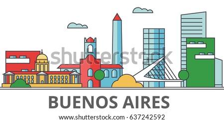 buenos aeros city skyline