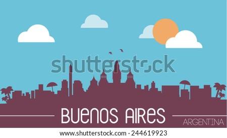 buenos aires argentina skyline