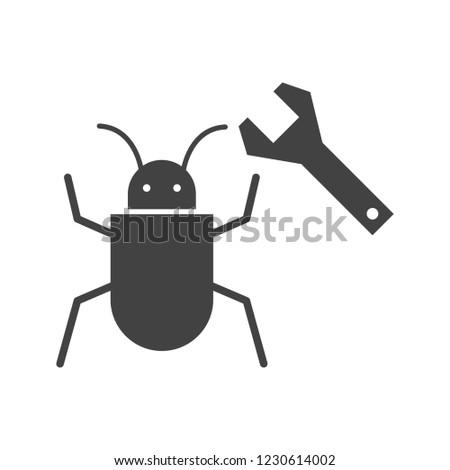 Bug fixing Glyph black icon