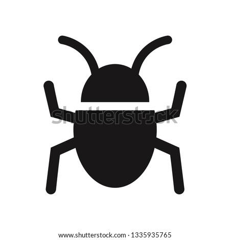 Bug vector icon Stockfoto ©