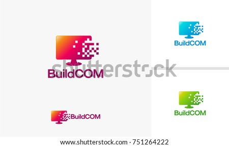 computer pixels logo download free vector art stock graphics images