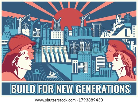 build for new generations retro