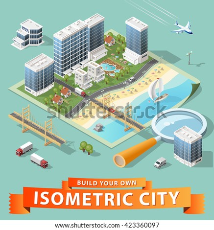 build your own isometric city