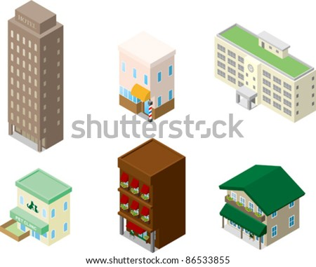Building - stock vector
