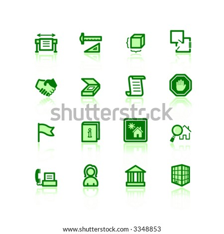 building and architecture icons