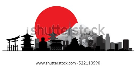 building and city of japan