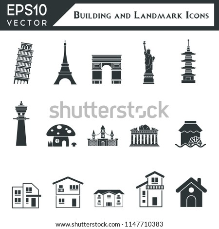 Building And Landmark Icons