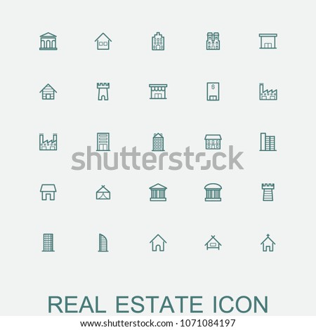Building and Realestate icons