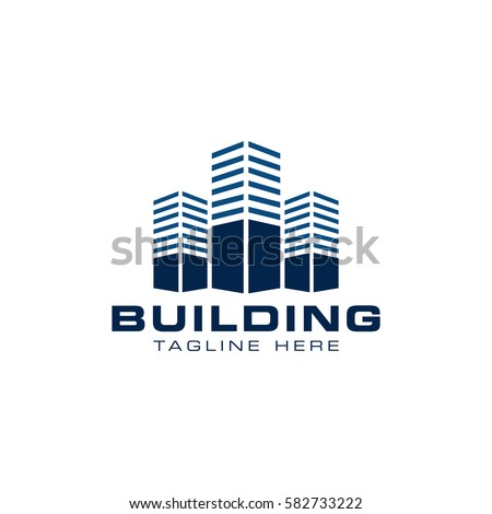 Building construction logo design