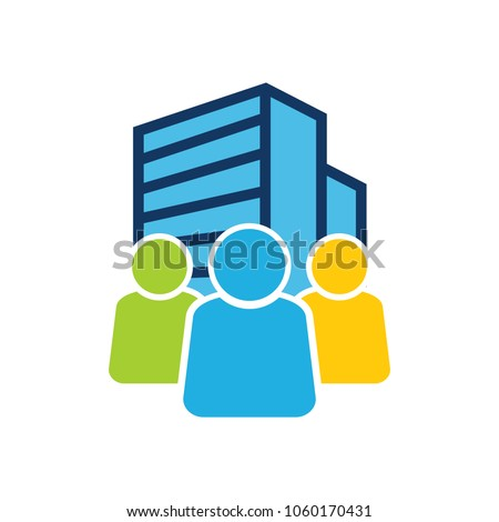 Building Group Logo Icon Design