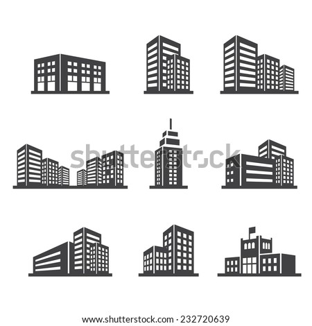 building icon - Shutterstock ID 232720639