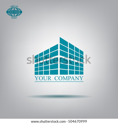 Building icon for company