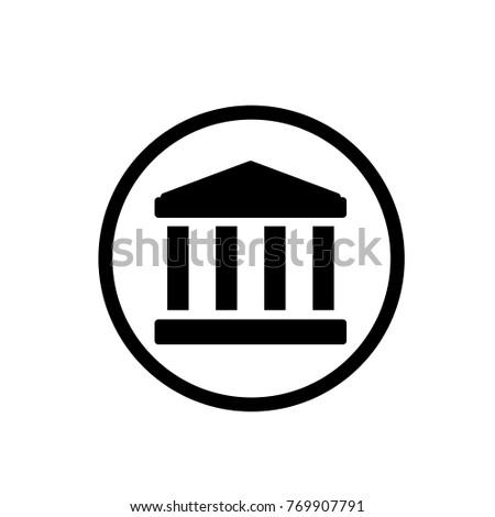Building icon in trendy flat style isolated on background. Building icon page symbol for your web site design Building icon logo, app, UI. icon Vector illustration, EPS10.