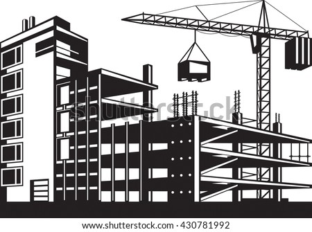 Royalty free stock photos and images building in various for Stages in house construction