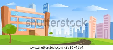 stock-vector-building-landscape