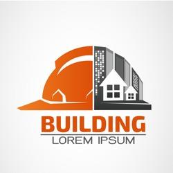 Building logo,architecture building vector logo design template. Skyscraper real estate business theme icon.
