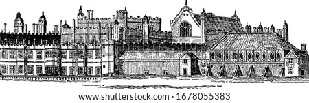 building of hampton court