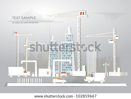 Building site and city