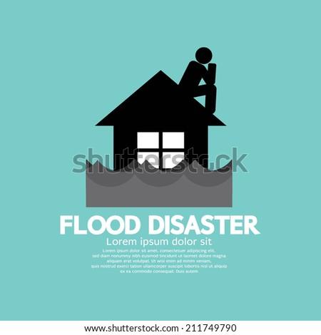 building soaking under flood