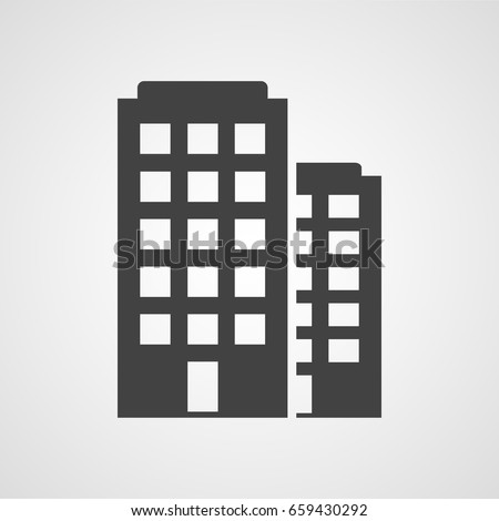 Building vector icon