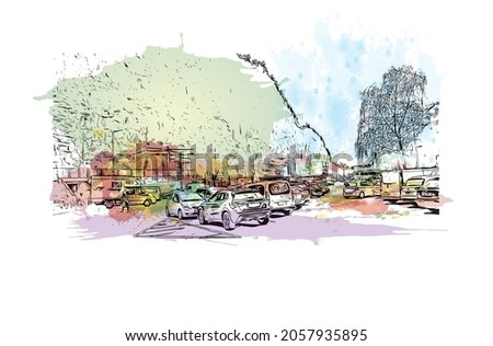 building view with landmark of