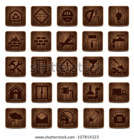 Building wooden icons