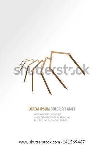 Buildings design vector background