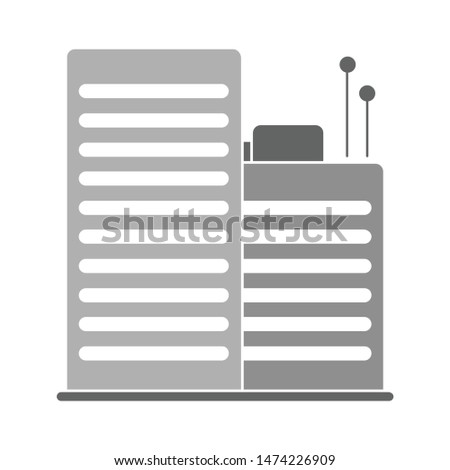 buildings icon. flat illustration of buildings vector icon. buildings sign symbol
