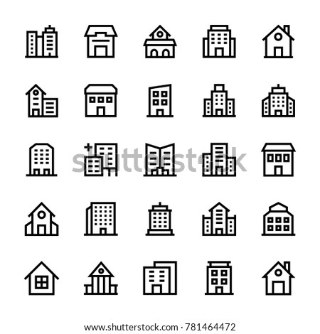buildings stoke icons 3