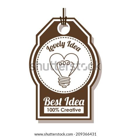 bulb design over white
