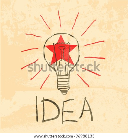 bulb drawing