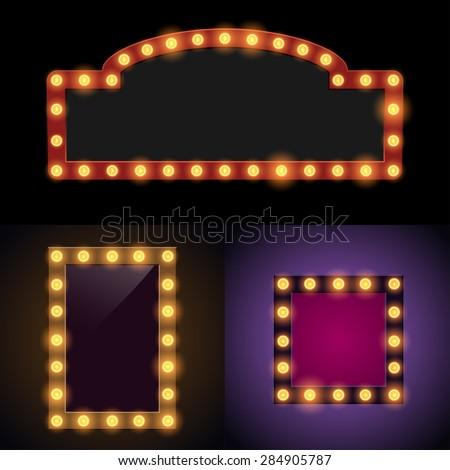 Royalty-free Retro design element square frame… #446480194 Stock ...