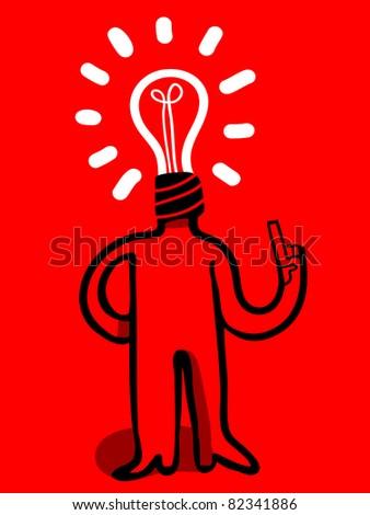 bulb head man