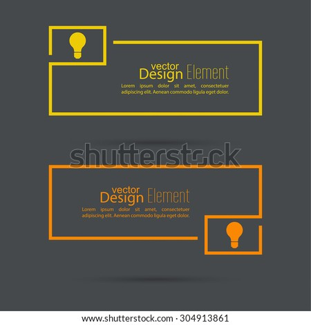 Bulb light idea. concept of big ideas inspiration innovation, invention, effective thinking. text. Speech Bubbles and Chat symbol.