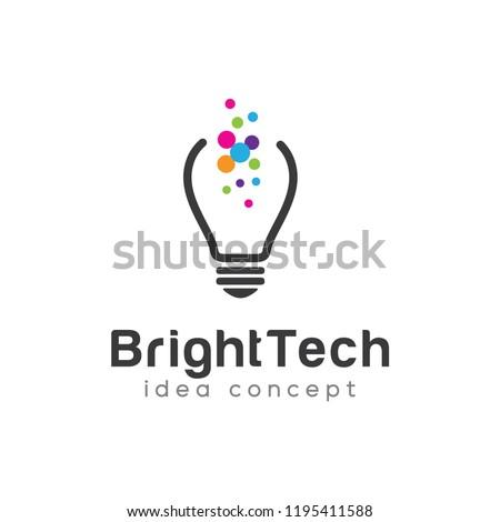 Bulb Logo Design Template