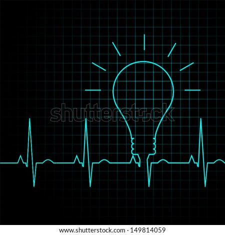 bulb pulse idea heart beat