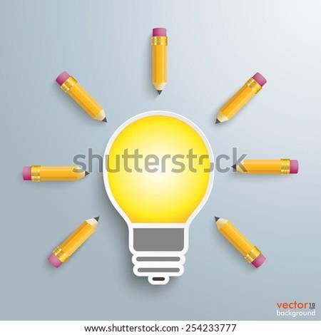 Royalty free Creative Ideas Graphic Designer Vector