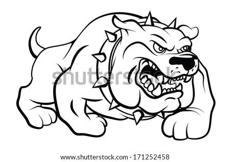 Perro de toro - Descargue Gráficos y Vectores Gratis