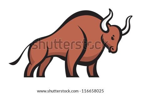 bull   vector logo concept
